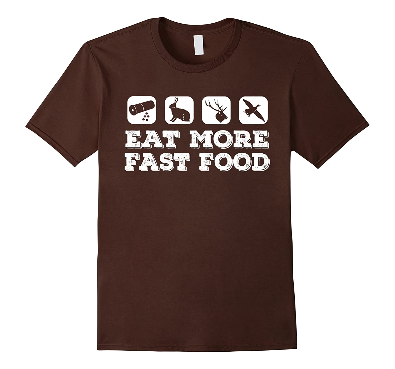 EAT MORE FAST FOOD T SHIRT-TH