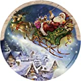 Thirstystone Drink Coaster Set, Santa's Sleigh
