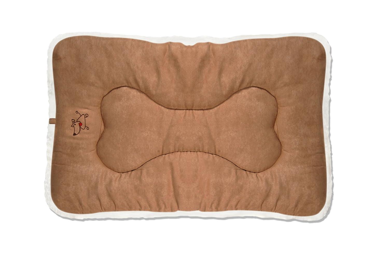 Best Pet Supplies Crate Mat, Large, Light Brown Suede
