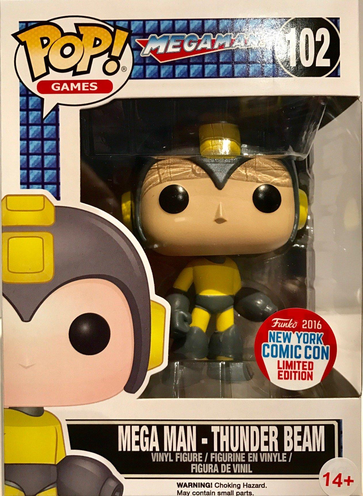 Funko POP! Thunder Beam Mega Man #102 NYCC Exclusive