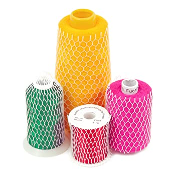 amazon com 10 yards of thread net spool saver for sewing embroidery