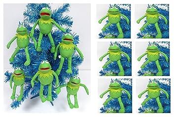 Amazon.com: Kermit the Frog Holiday Christmas Ornament Set - Unique ...