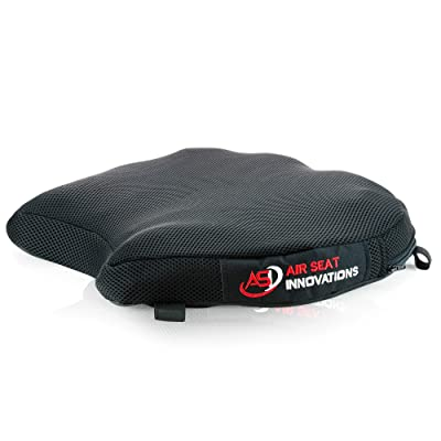 """Air Motorcycle Seat Cushion Pressure Relief Pad Large for Cruiser Touring Saddles 15"""" x 13.5"""" x 2.4"""": Automotive"""