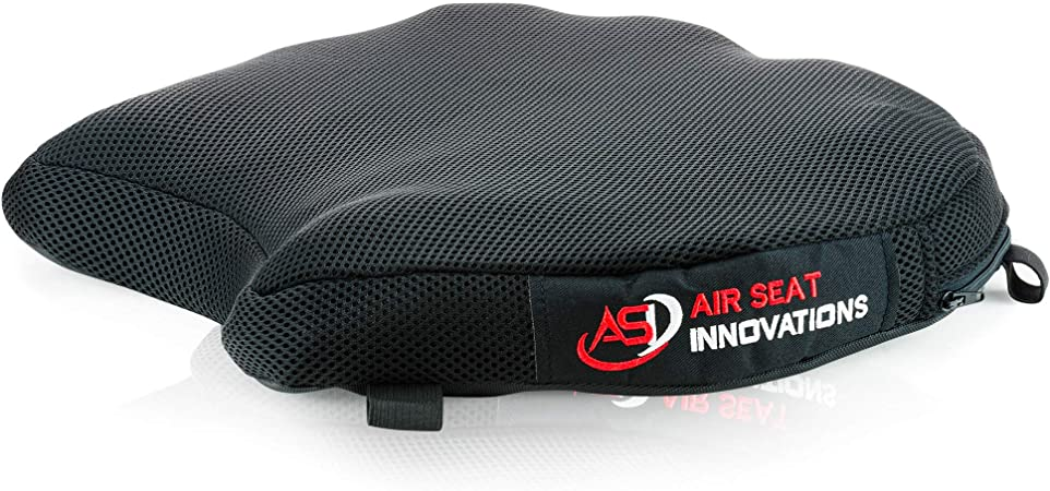 Kamenda Air Pad Motorcycle Seat Cushion Cover Universal Inflatable Breathable Non-Slip Seat for R1200GS R1250GS for 390