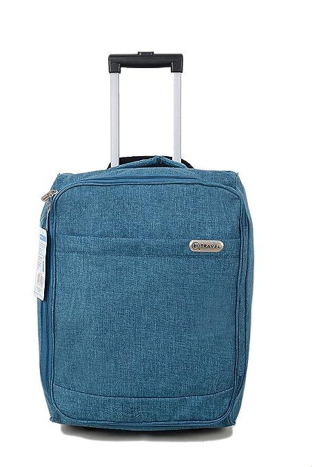 EasyJet cabina bolsa de equipaje de mano Suitecase ligero estupendo con el mango extensible y ruedas Perfecto para todas las aerolíneas como Ryanair, ...