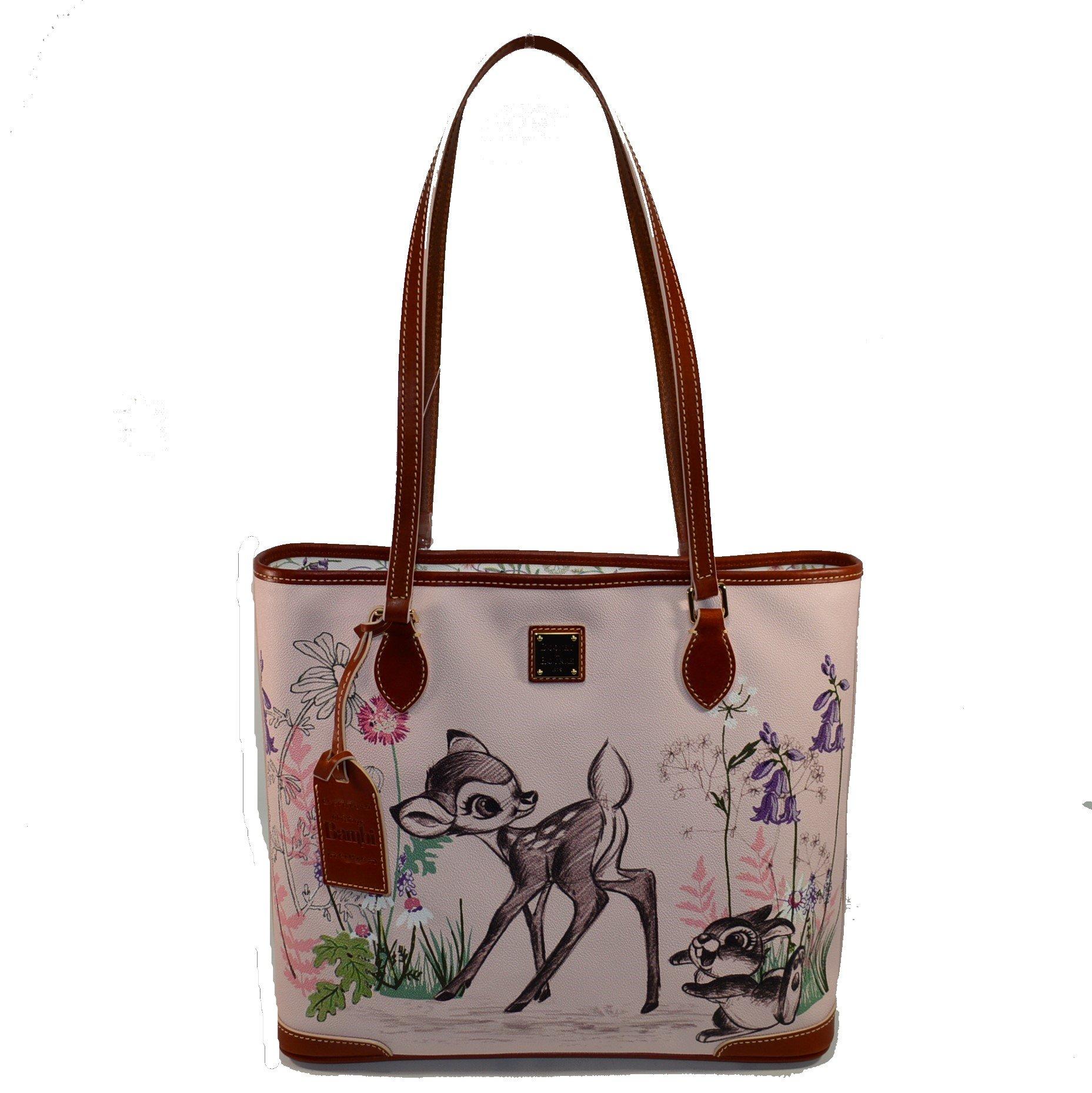 Disney Dooney and Bourke Bambi Shopper Tote Bag Purse