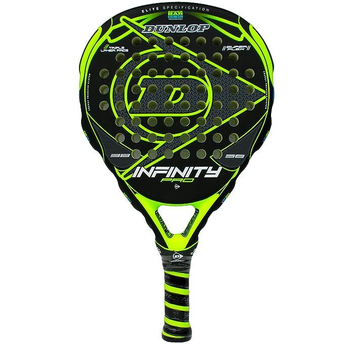 1 opinioni per Racchetta da paddle, Dunlop Infinity Pro, colore giallo.