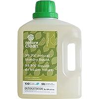 Nature Clean Laundry Liquid Detergent, Lemon Verbena, Sensitive Skin Tested 3 Liter