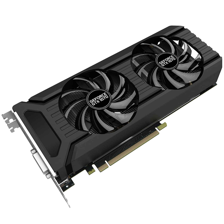 Palit NE51070015P2-1043D GeForce GTX 1070 Graphics Card - Black:  Amazon.co.uk: Computers & Accessories