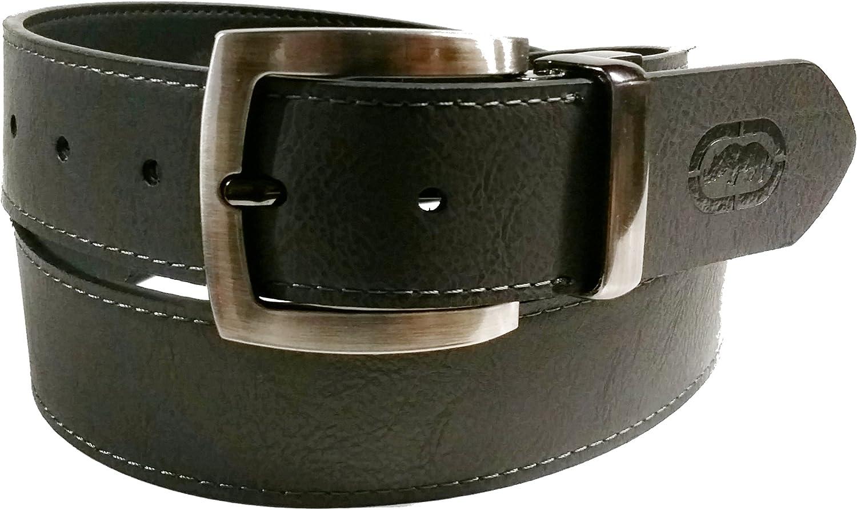 Ecko Unltd Mens Reversible Leather Belt