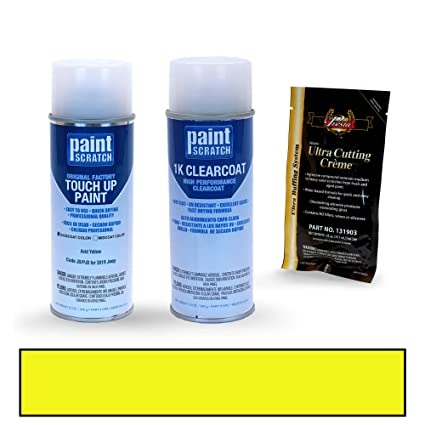 PAINTSCRATCH Acid Yellow JD/PJD for 2019 Jeep Wrangler Pickup - Touch Up Paint Spray