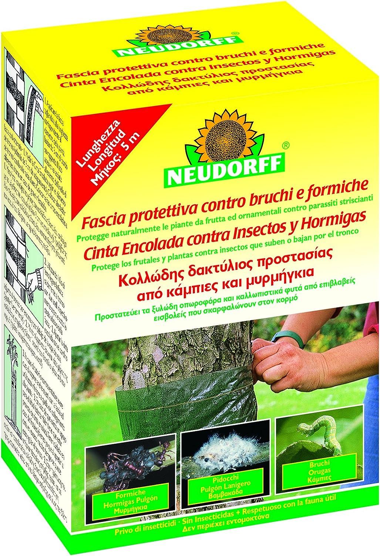 Neudorff 83282 Cinta encolada contra Insectos, Amarillo ...
