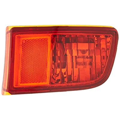 TYC 17-5159-00-1 Compatible with TOYOTA 4Runner Right Replacement Reflex Reflector: Automotive