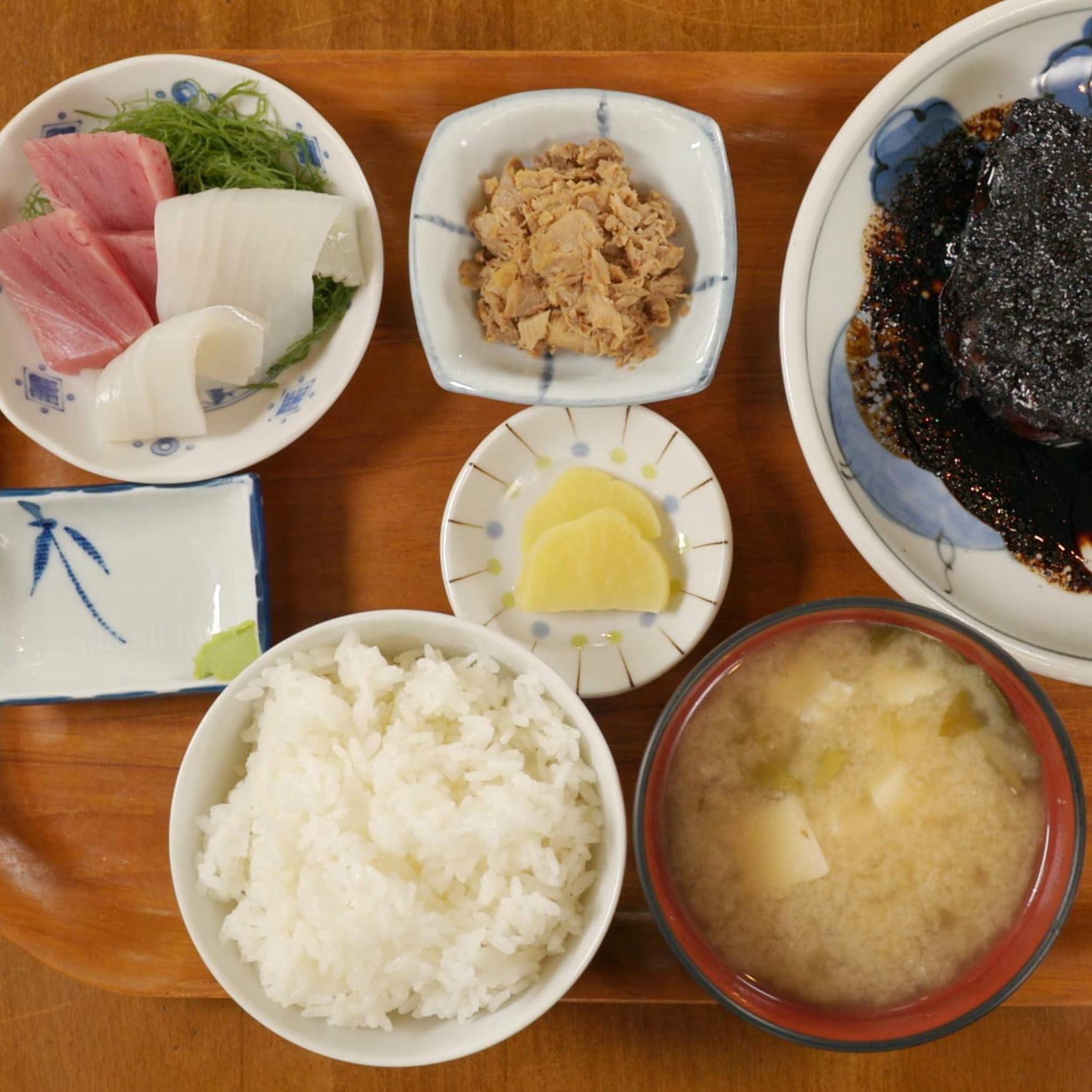 孤独のグルメ Ipad壁紙 千葉県浦安市の真っ黒な銀だらの煮付定食 その他 スマホ用画像
