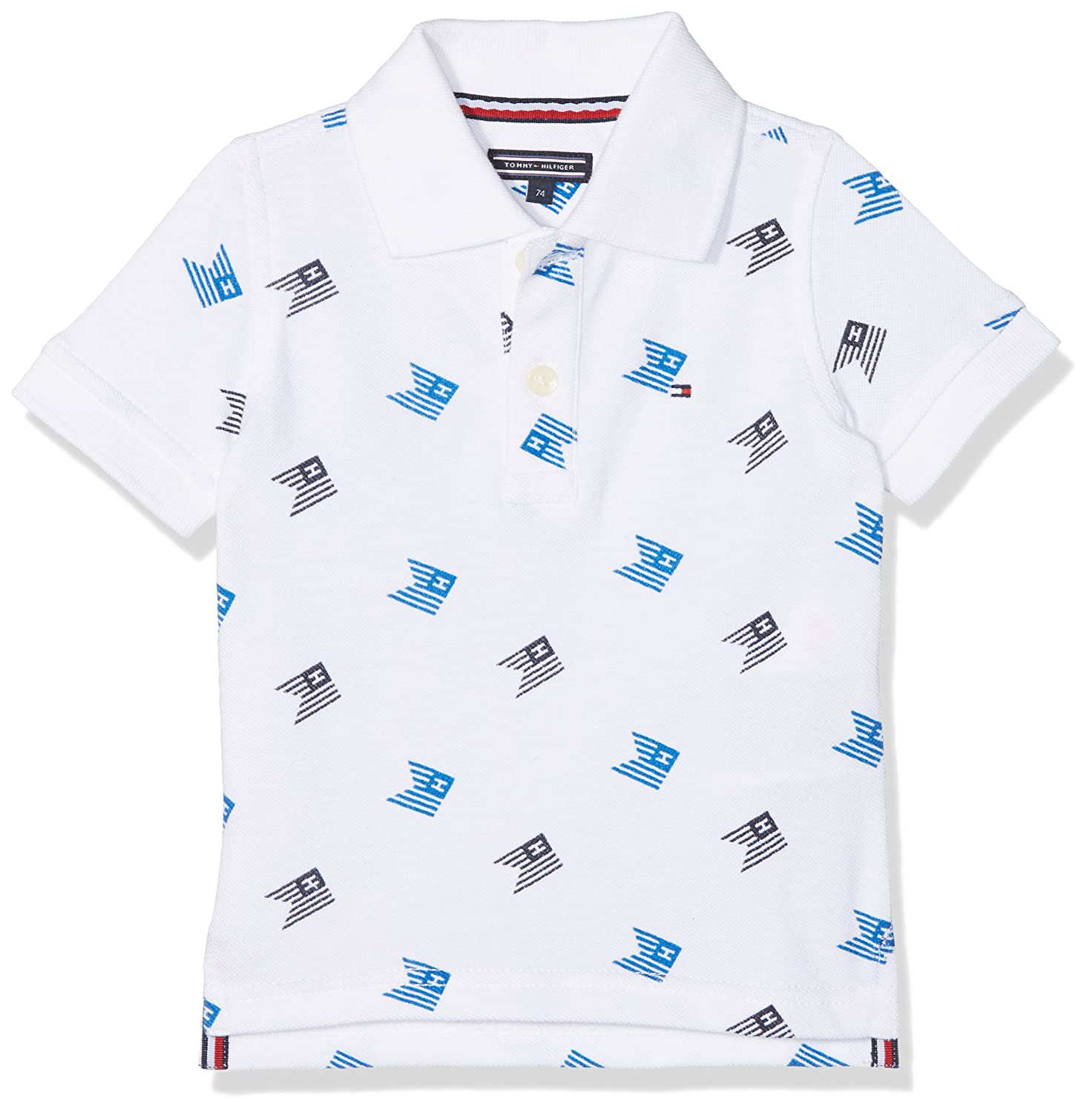 Tommy Hilfiger Ame All-Over Print Polo S/S, Vaqueros Boyfriend para Mujer