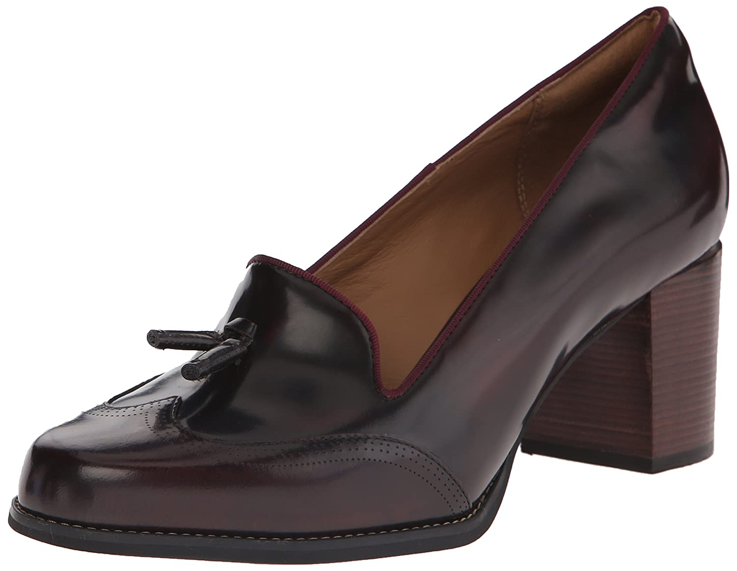 Amazon.com | CLARKS Women's Tarah Rosie Dress Pump, Burgundy Leather, 9.5 M  US | Pumps