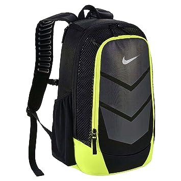 Nike Vapor Speed Backpack Mochila, Hombre, Negro (Black/Volt/Metallic Silver), Talla Única: Amazon.es: Deportes y aire libre