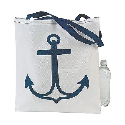 Amazon.com: 12 Nautical Anchor bolsa Bolsas – Grandes 17 x ...