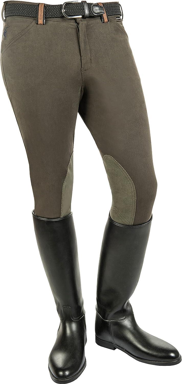 /Pantaloni da Equitazione da Uomo North Pole di Salto Alos con Rinforzi su Ginocchia Pantaloni HKM/