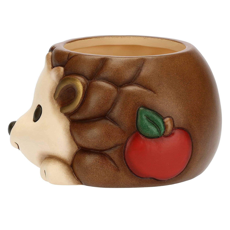 Coprivaso Piccolo a Forma di Riccio in Ceramica Preludio dinverno THUN /®