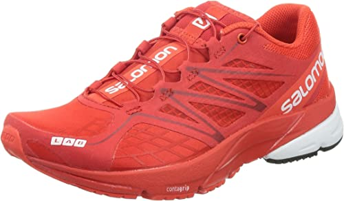 : SALOMON Men's S Lab X Series Red Casual Sneakers