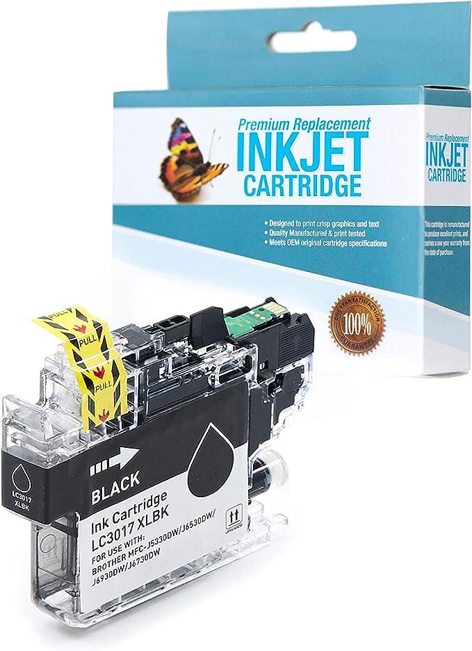 SuppliesOutlet Compatible Ink Cartridge Replacement for Brother LC3017 LC3017Y LC3017M LC3017C C,M,Y,K,10 Pack LC3017BK
