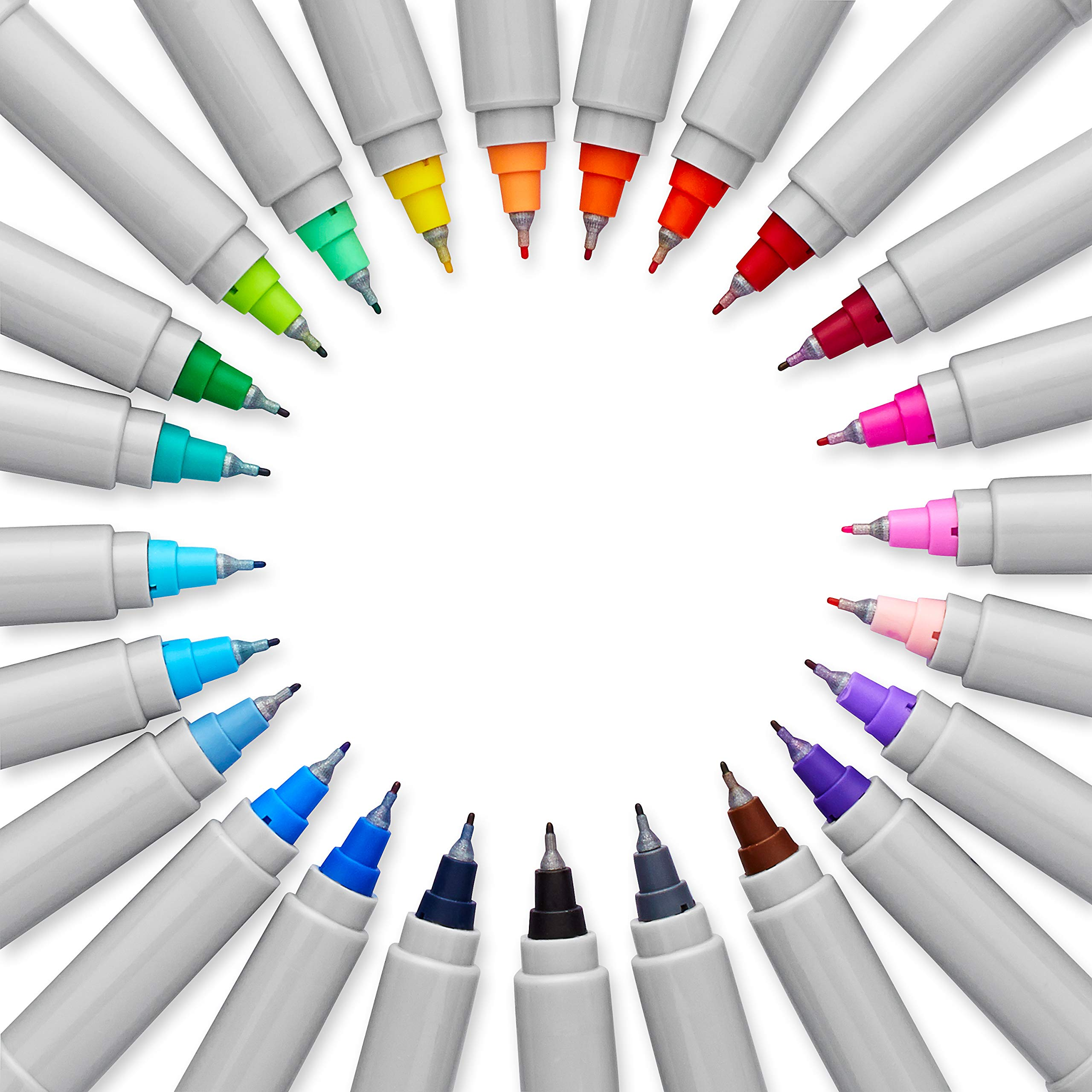 Sharpie Permanent Markers, Ultra Fine Point, Assorted Colors, 36 Count by Sharpie (Image #4)