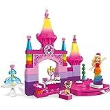 Mega Construx Mega Construx Barbie Rainbow Princess Castle Building Kit
