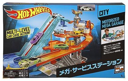 Amazoncom Hot Wheels Motorized Mega Garage Toys Games