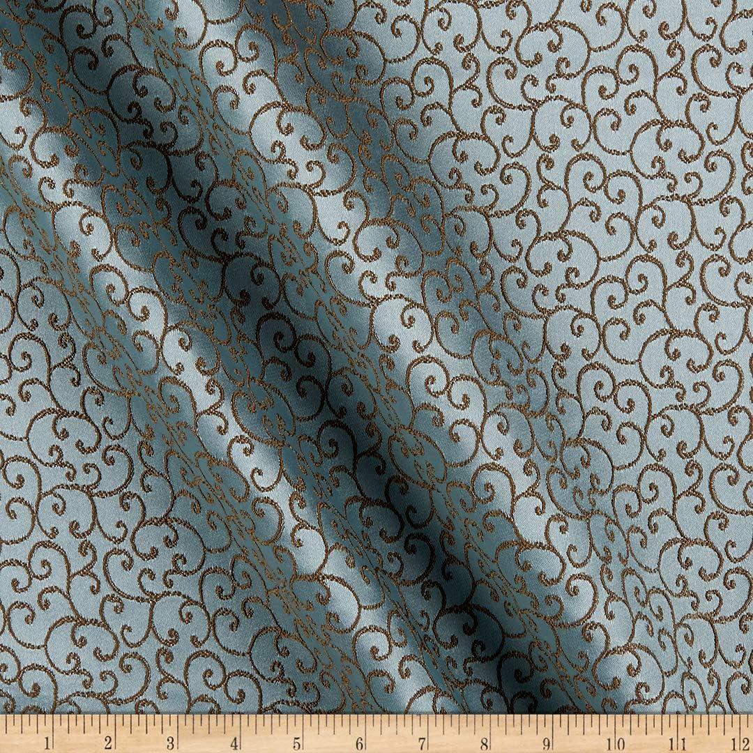 Eroica Novel Lawrence Jacquard Seafoam Fabric by the Yard