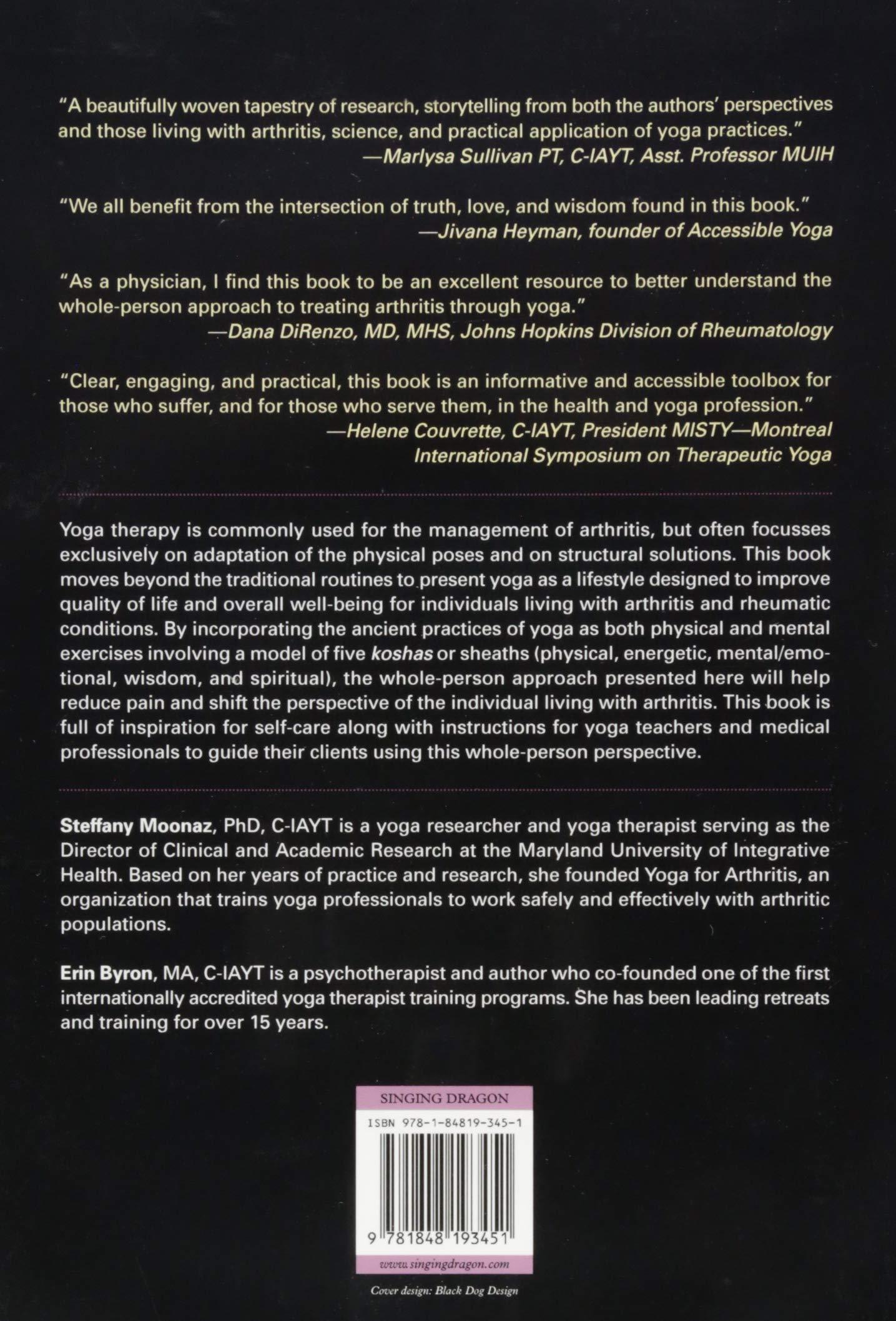 Yoga Therapy for Arthritis: Amazon.es: Moonaz, Byron: Libros ...