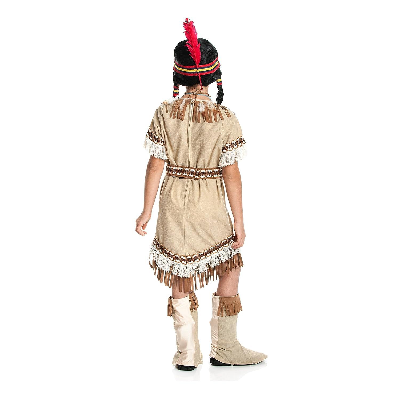 Indianer Indianerin Kostüm Dame Kleid Herren Kinder Junge Indianerkostüm Mädchen