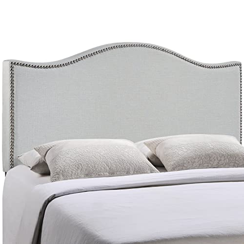 Modway Curl Linen Fabric Upholstered King Headboard