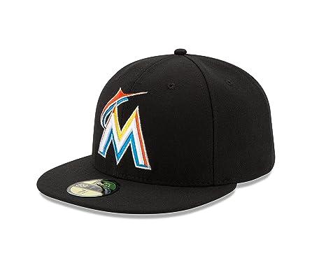 BONE 5950 MIAMI MARLINS MLB ABA RETA PRETO NEW ERA  Amazon.com.br ... cb7e9798e6d