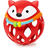 Skip Hop Explore and More Collection Roll-Around Rattles, Fox