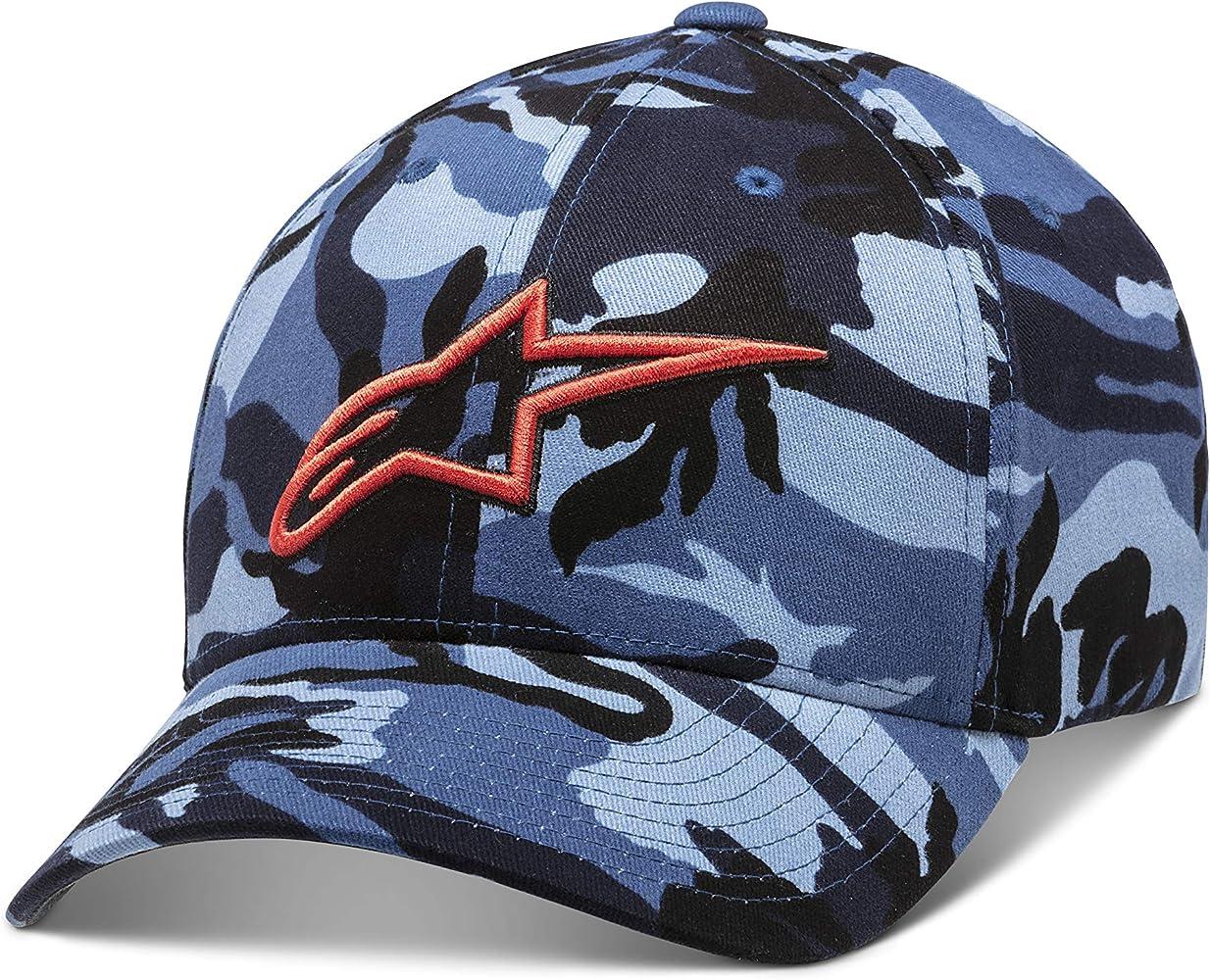 Alpinestars Visible Gorra de Beisbol, BLU Mimetico, SM para Hombre ...