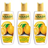Vaadi Herbals Lemon Dandruff Defense Shampoo, 350ml (Pack of 3)