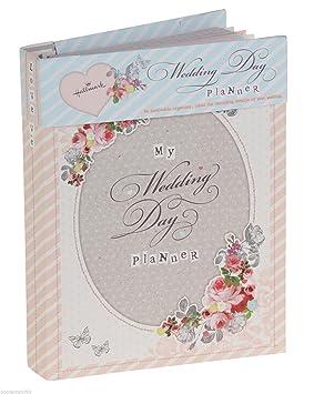 Hallmark Agenda de boda libro (diario/organizador) - regalo para compromiso