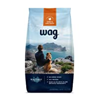 Deals on Amazon Brand Wag Dry Dog Food Trial Size 5 lb. Bag