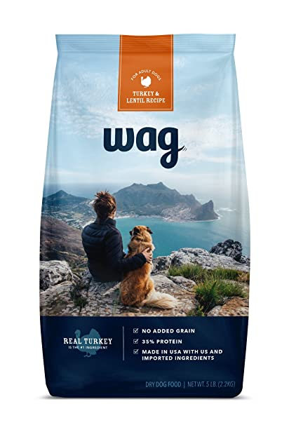 Amazon Com Amazon Brand Wag Dry Dog Food Trial Size Bag No