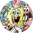 Amscan Sponge Bob Party 23 cm Plate