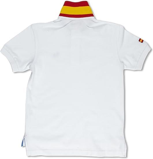 TORO Polo Junior Bandera Blanco 10 años (140 cm): Amazon.es: Ropa y accesorios