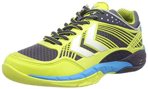 Hummel Hummel OMNICOURT Z8 FLEXSHIELD - Zapatillas Deportivas para Interior de Material sintético Unisex Adulto: Amazon.es: Zapatos y complementos