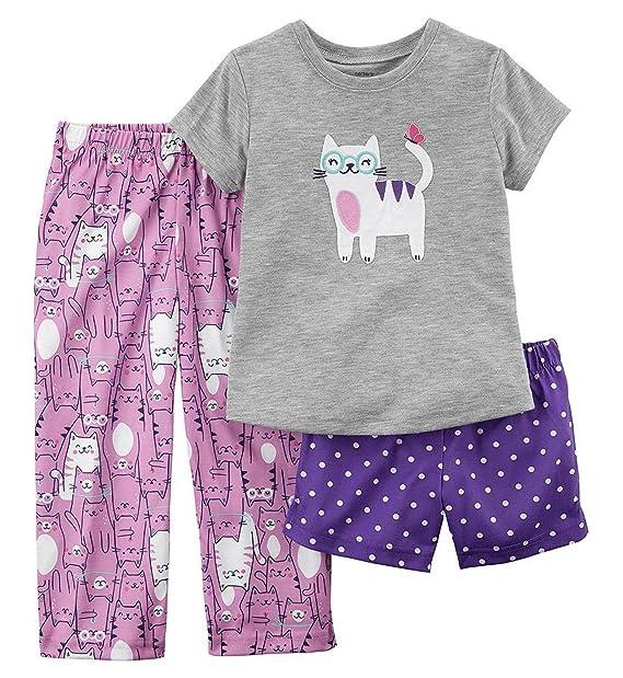 Amazon.com: Carter s para niña s 3 piezas Kitty diseño de ...