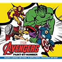 Marvel: The Avengers Paint-By-Number