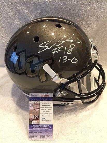 5dbd57ed7 Amazon.com: Shaquem Griffin Autographed Helmet - INSCRIBED UCF KNIGHT  FULLSIZE - JSA Certified - Autographed College Helmets: Sports Collectibles