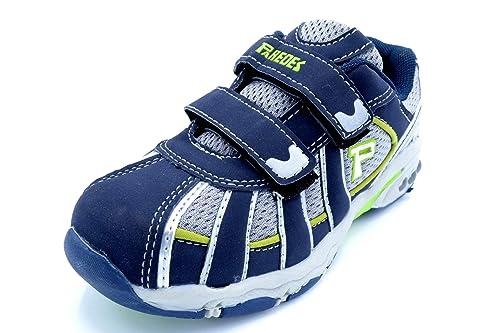 Paredes 21064A - Zapatillas Deportivas niño con Velcro (30 EU)