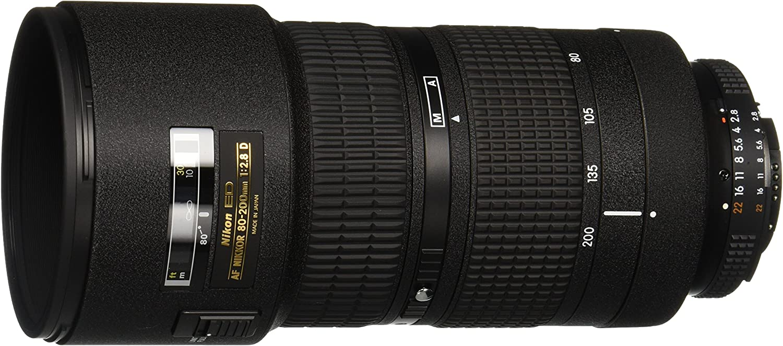 Lente NIKKOR 80-200mm f/2.8D, da Nikon