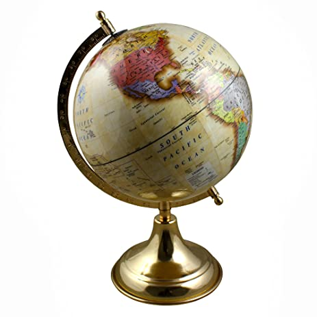 Amazon christmas thanksgiving gifts decorative world globe christmas thanksgiving gifts decorative world globe earth map with stand 13 inches for desk decoration gumiabroncs Image collections