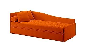 Ponti Divani Einzelbett mit ausziehbarem und zwei Matratzen ...